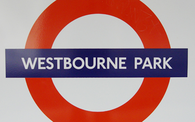 Closest Tube is Westbourne Park